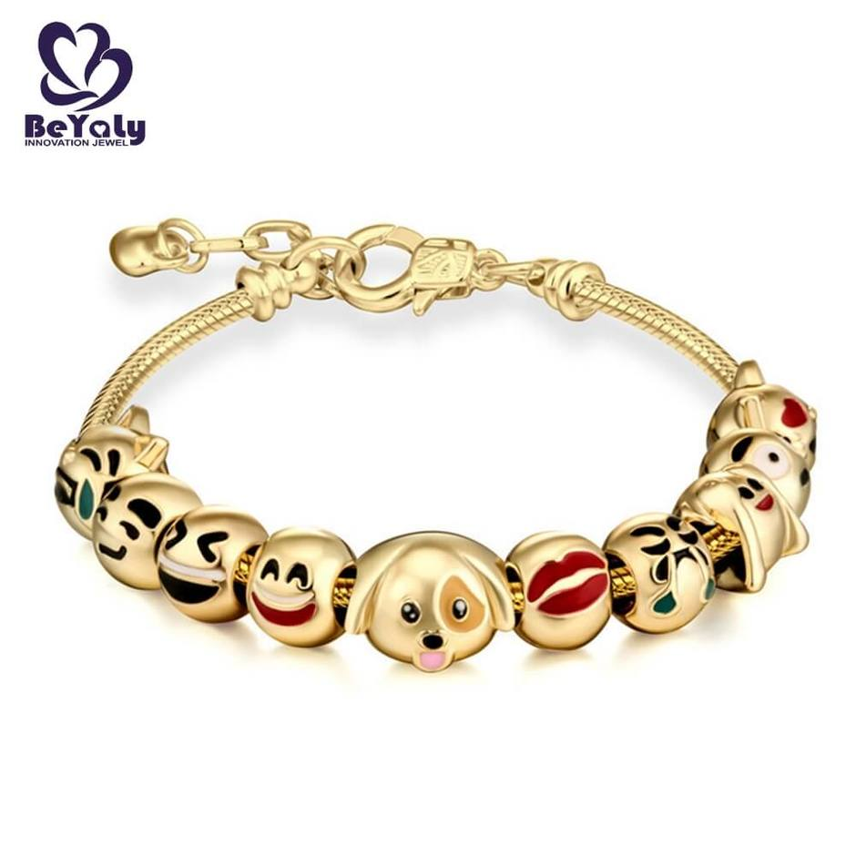 Wind bell colored beads design party jewelry fashion bracelet